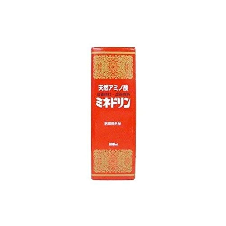 恩赦バイオリニスト法的伊丹製薬 ミネドリン 600ml ×12本