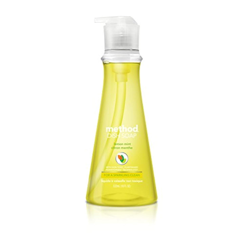 検出するロッカー船形Method Pump Dish Soap,Lemon Mint, 18 Ounce (Pack of 2) by Method