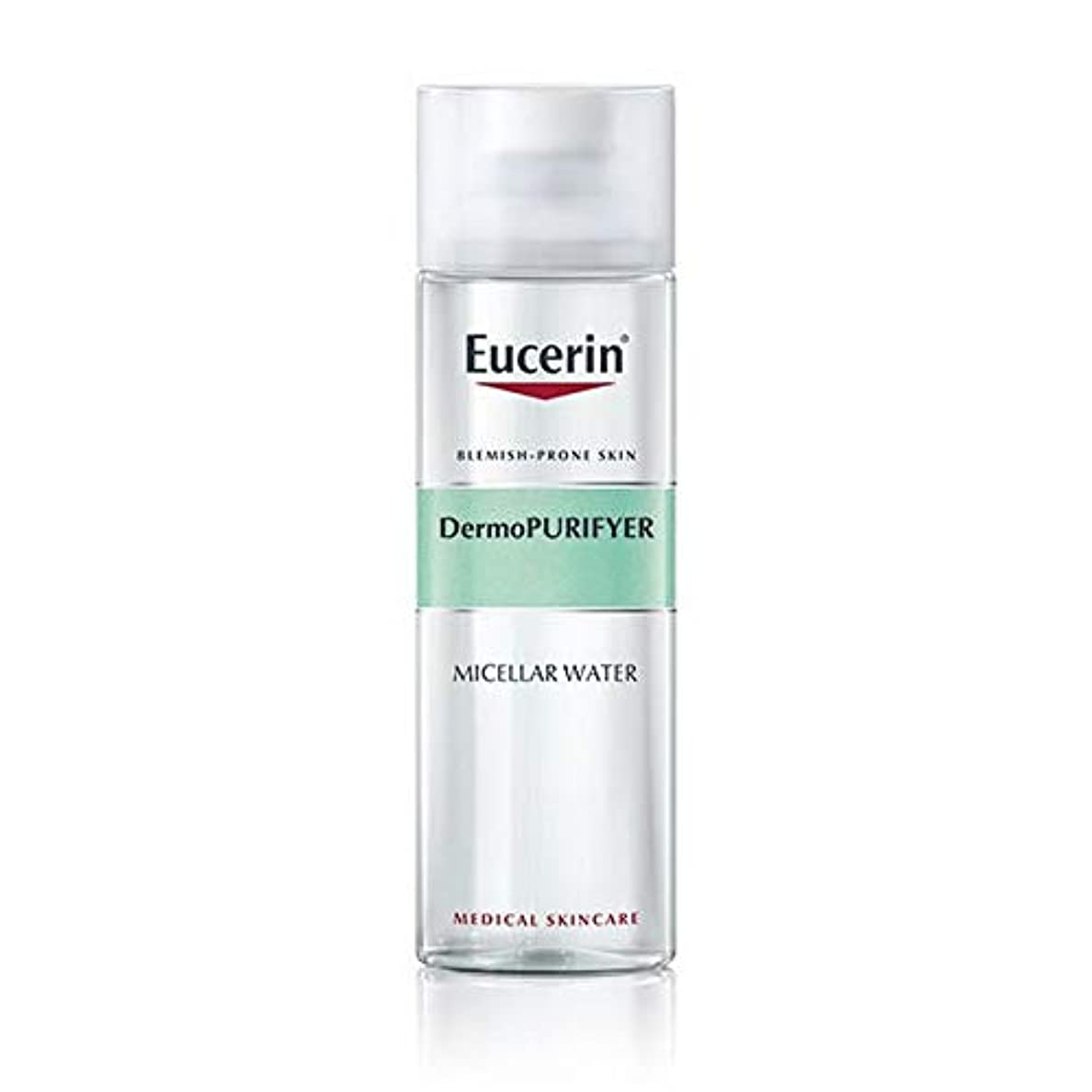 霧ベーカリー問い合わせ[Eucerin ] オイルコントロールミセル水200ミリリットルDermopurifyerユーセリン - Eucerin Dermopurifyer Oil Control Micellar Water 200ml [...