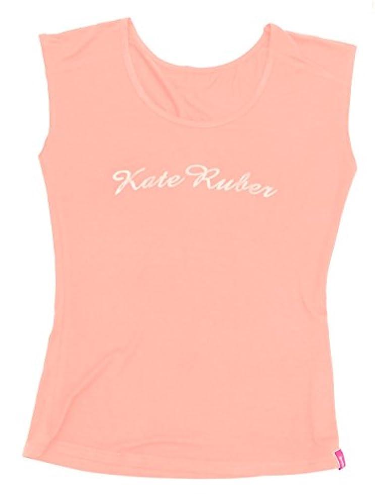 対処債務者燃料Kate Ruber (ケイトルーバー) ヨガTシャツ ピンクM-L