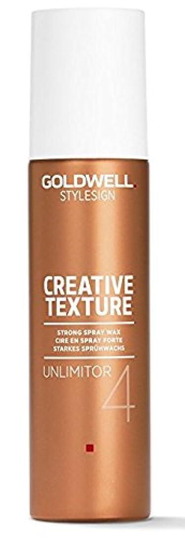 Goldwell Stylesign 4クリエイティブテクスチャUnlimitor強力なスプレーワックス - 4.6オンス 4.6オンス