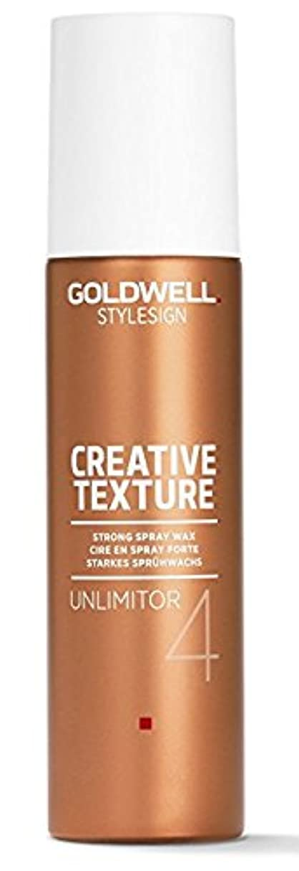 美徳感じる刺繍Goldwell Stylesign 4クリエイティブテクスチャUnlimitor強力なスプレーワックス - 4.6オンス 4.6オンス
