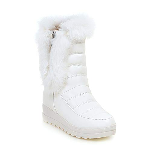 新しいチューブ雪のブーツ、厚底プラス綿厚く暖かいノンスリップ...