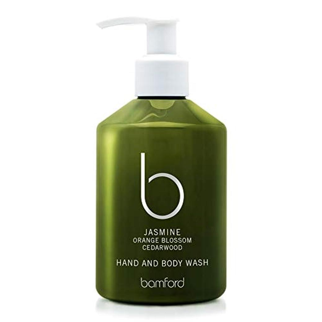 純粋なロバおばさん[Bamford ] バンフォードジャスミンの手とボディウォッシュ250ミリリットル - Bamford Jasmine Hand and Body Wash 250ml [並行輸入品]