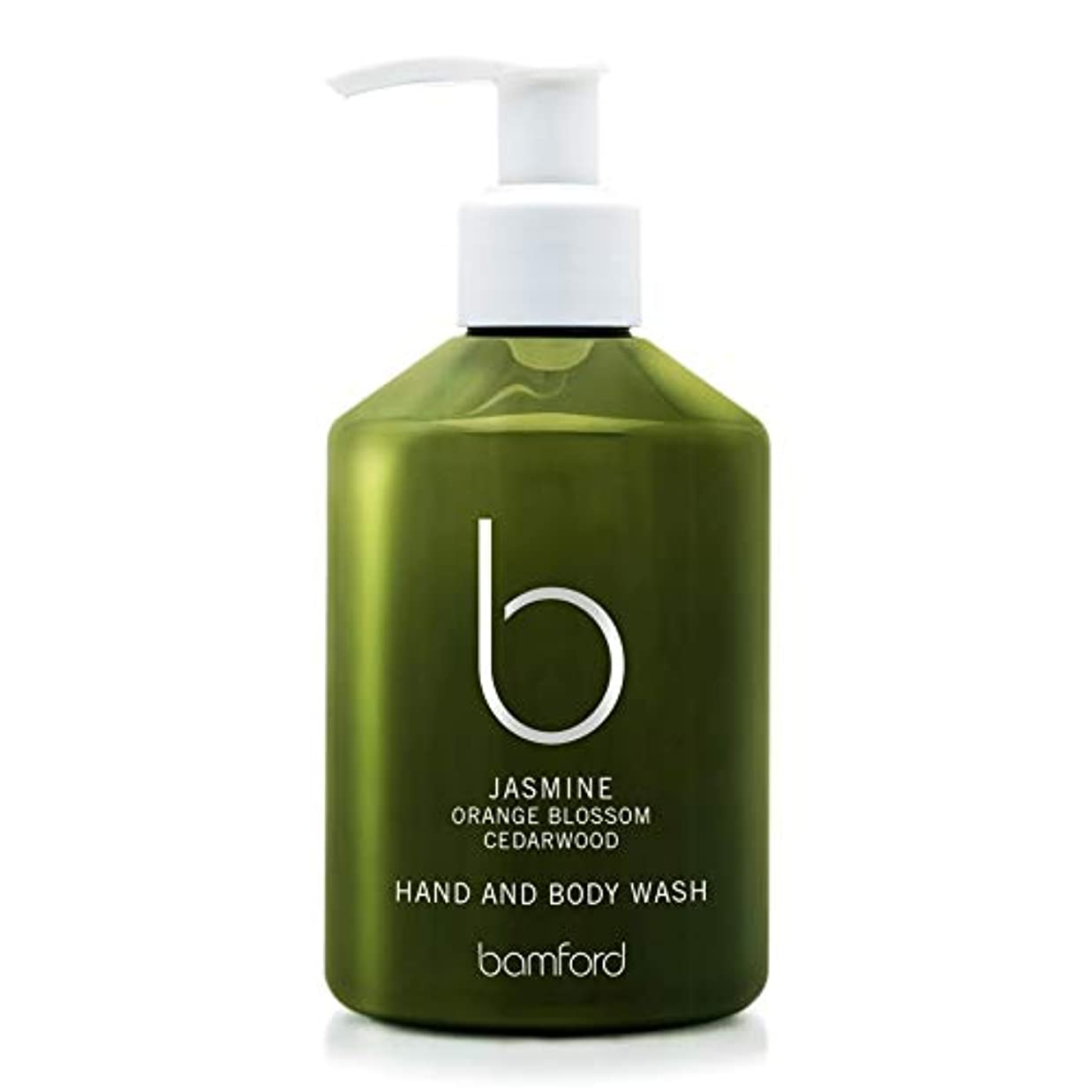 咽頭多様なライラック[Bamford ] バンフォードジャスミンの手とボディウォッシュ250ミリリットル - Bamford Jasmine Hand and Body Wash 250ml [並行輸入品]