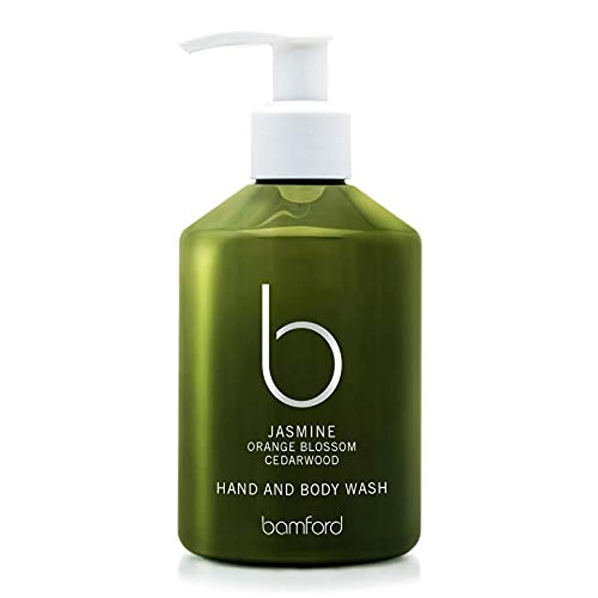 気取らないメルボルン公爵夫人[Bamford ] バンフォードジャスミンの手とボディウォッシュ250ミリリットル - Bamford Jasmine Hand and Body Wash 250ml [並行輸入品]