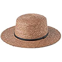 Will & Bear Unisex Harvey Straw Boater Summer Hat