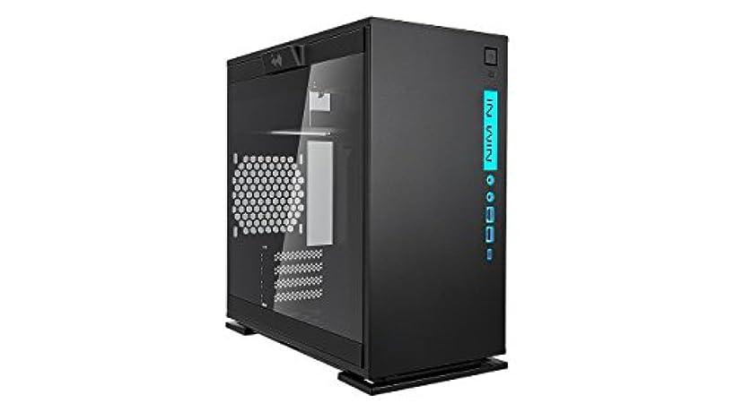 り口述段階IN WIN RGB LEDライティング対応 強化ガラス製サイドパネル採用 ミニタワー ATX PCケース 301C (型番:IW-CF07B 301C-Black)
