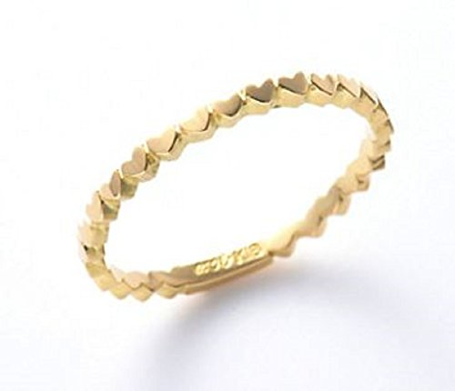 AHKAH アーカー アンハート エタニティリング リング 指輪 (7号)
