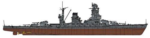 ハセガワ 1/350 日本海軍 戦艦 陸奥