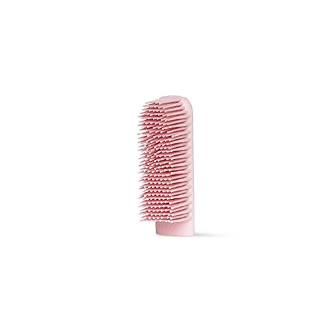 反射ルビーハンカチBOIE USA シリコン歯ブラシ (交換用ブラシヘッド ピンク)