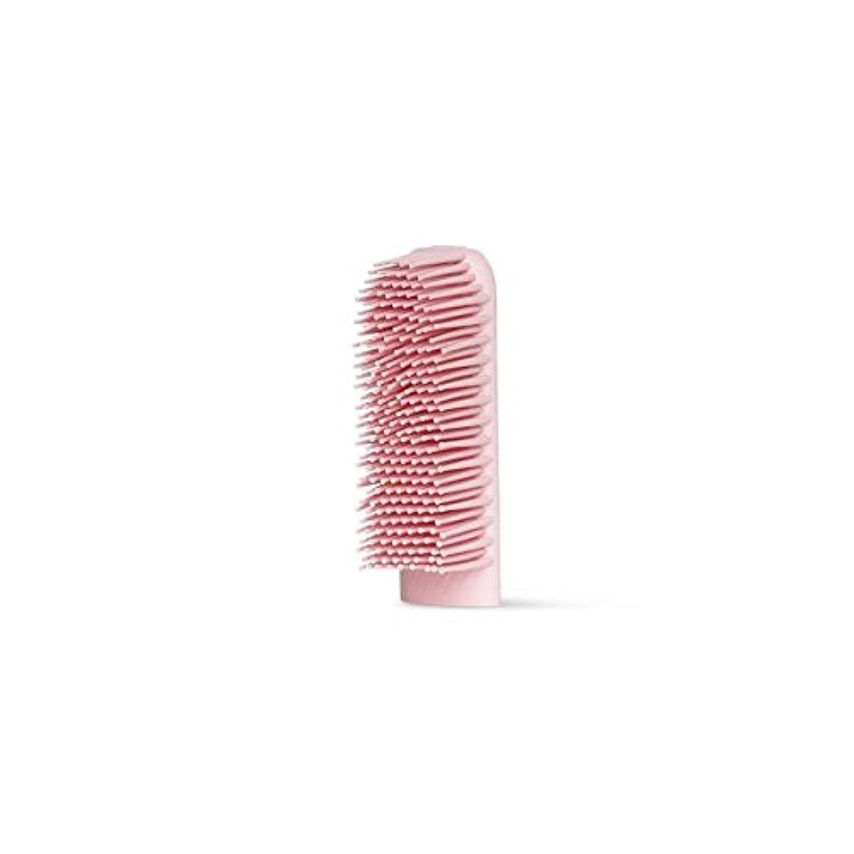 怒っている小さい影響するBOIE USA シリコン歯ブラシ (交換用ブラシヘッド ピンク)