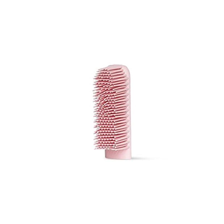 ダーベビルのテス補助アームストロングBOIE USA シリコン歯ブラシ (交換用ブラシヘッド ピンク)