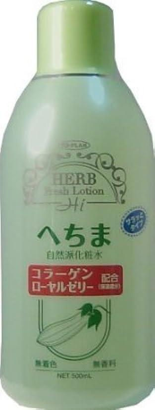 起きる続編バックアップトプラン へちま化粧水 500ml (商品内訳:単品1個)