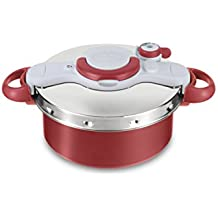 Tefal Clipso Minut Duo 5L P4605131 Pressure Cooker and Slow Cooker with 2 Programs to Steam or stew
