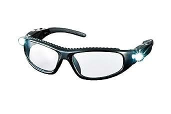 TRUSCO LEDライト付き保護メガネ