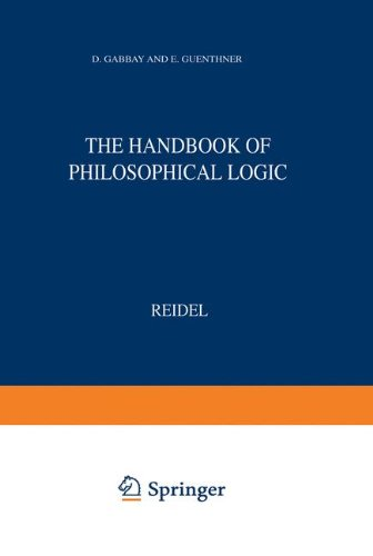 Handbook of Philosophical Logic: Volume I: Elements of Classical Logic (Synthese Library)