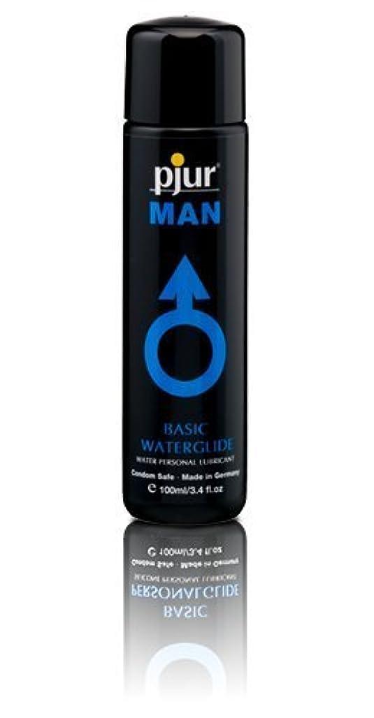 ミネラルコンセンサス酒Pjur Man Basic Waterglide Lubricant - 100ml