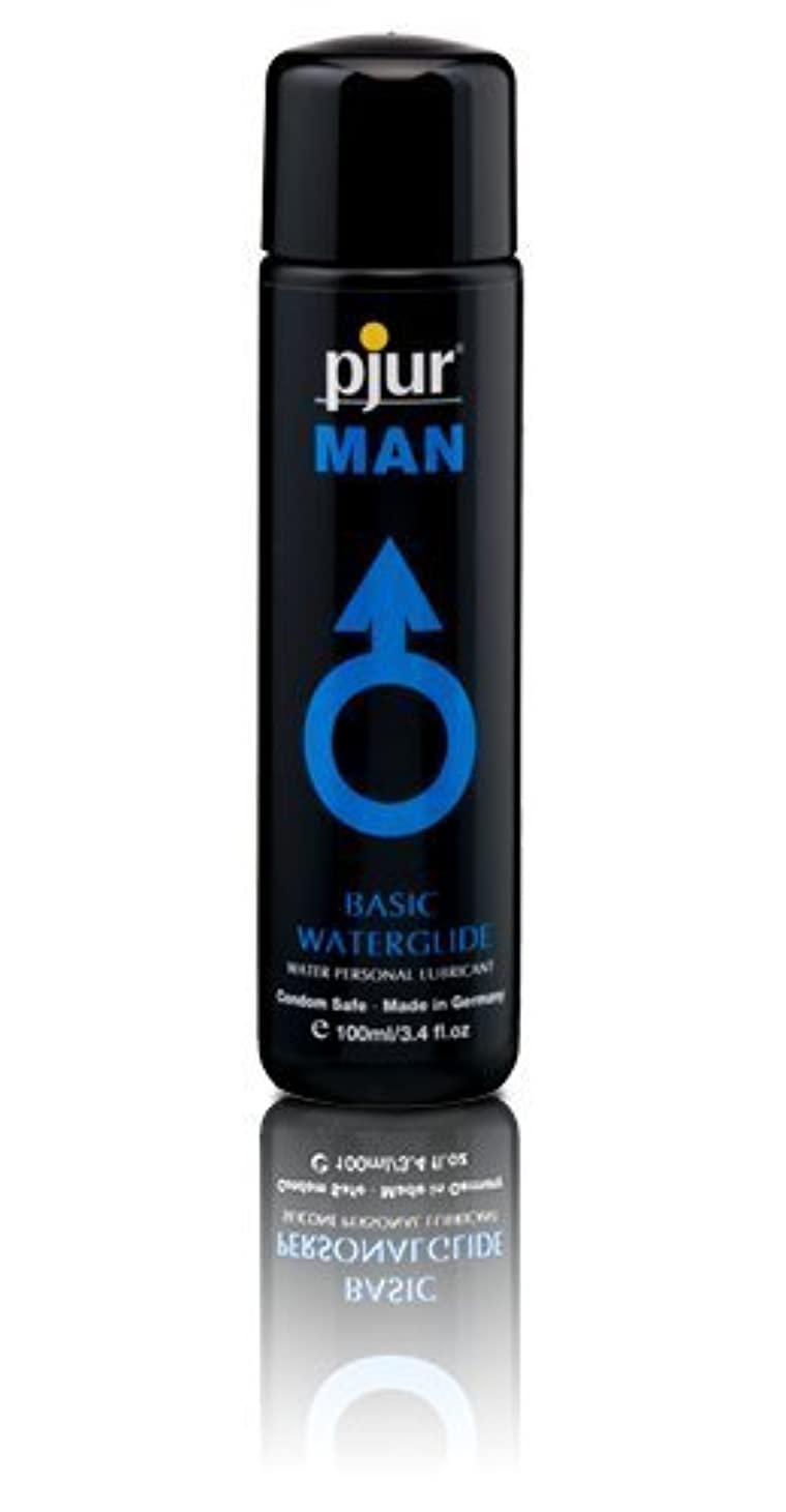 キャンペーン屈辱する宿題Pjur Man Basic Waterglide Lubricant - 100ml