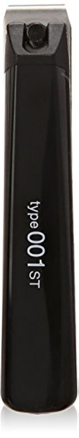 電気的簡略化するミニ貝印 ツメキリ Type001 M ST 黒 KE0117