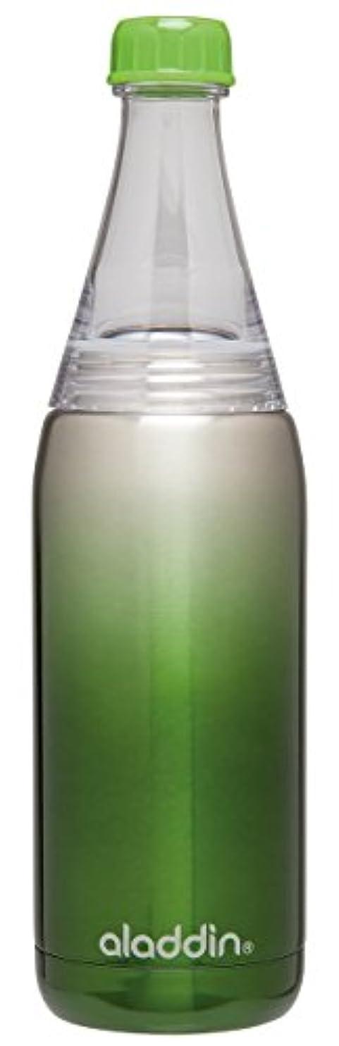 ネーピアつぶやきスケジュールAladdin Fresco Twist and Go Stainless Steel Vacuum Insulated Water Bottle - Green, 0.6 Litre