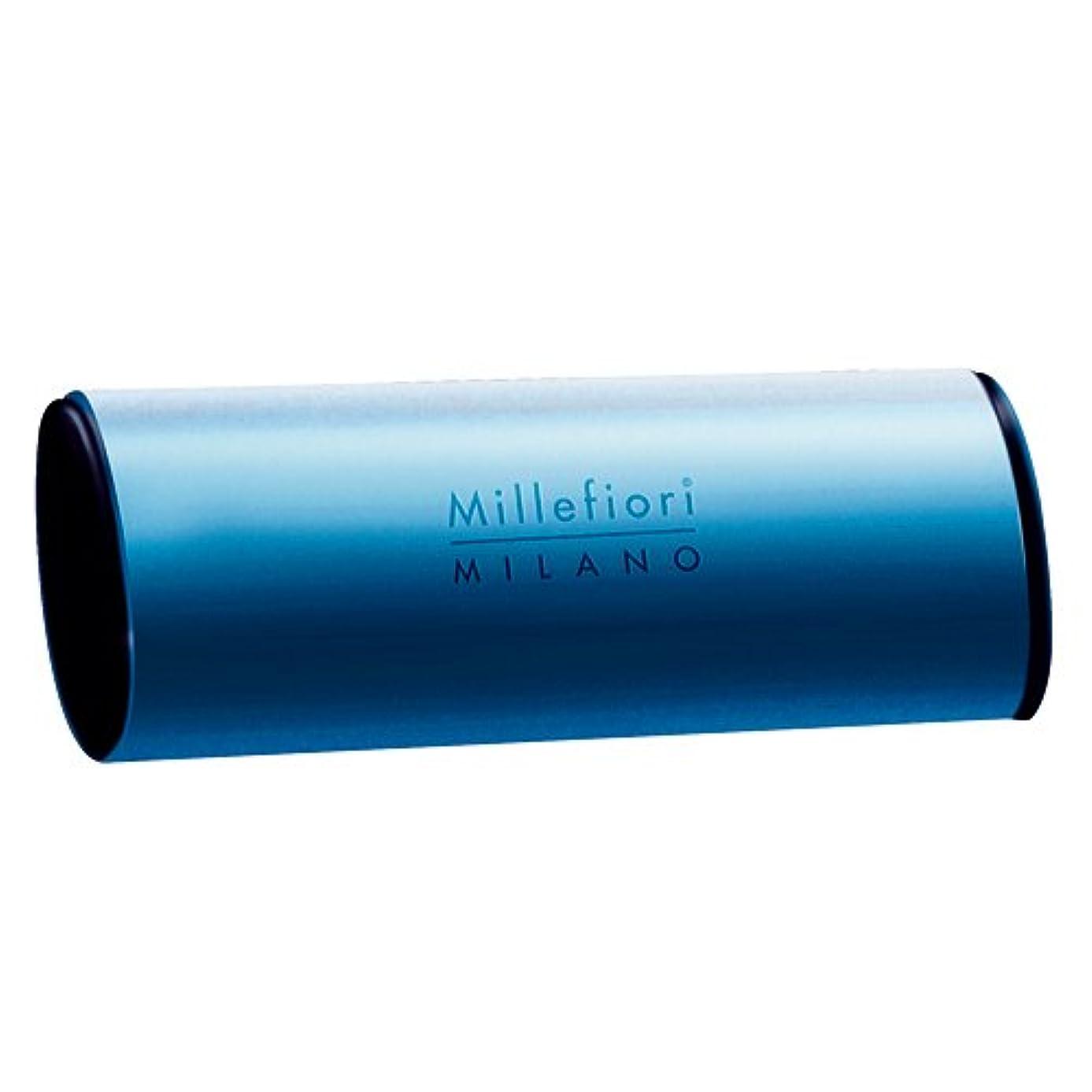 写真を描くアドバイス低いMillefiori カーエアーフレッシュナー ブルー スパイシーウッド CDIF-A-006