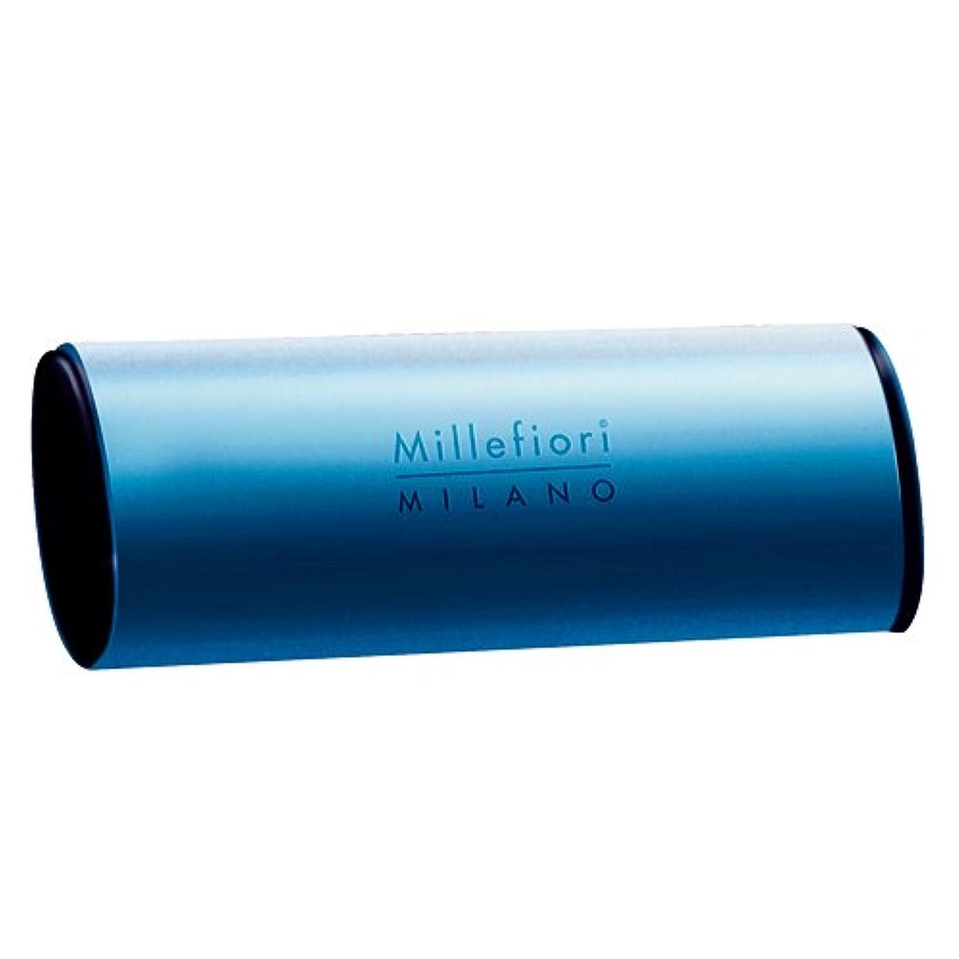 密度該当する目指すMillefiori カーエアーフレッシュナー ブルー スパイシーウッド CDIF-A-006