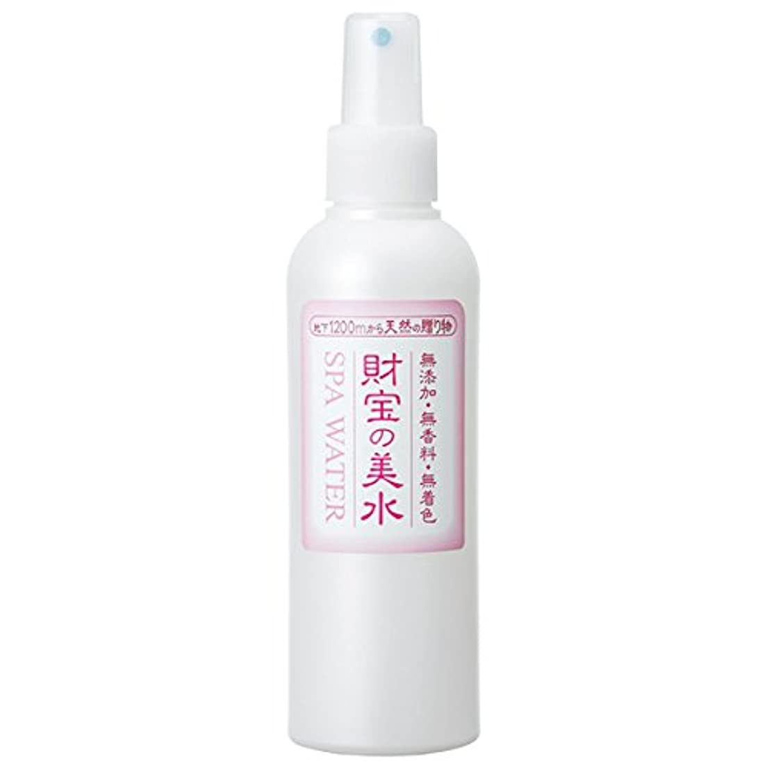 発明する質量水っぽい財宝 温泉 美水 ミスト 化粧水 200ml