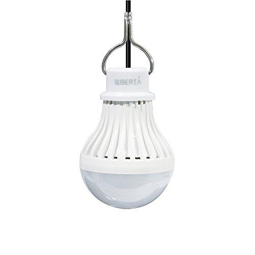 [リベルタ]LIBERTA USB LEDライト 電球色 5W 緊急ライト アウトドアライト ON/OFFスイッチ フック付き