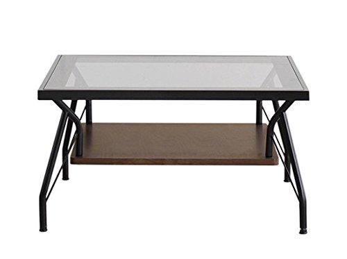 RoomClip商品情報 - 東馬 ローテーブル・ちゃぶ台 ブラック 幅70×奥行き70×高さ38cm メリオ