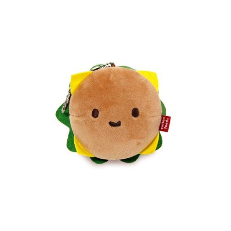 Phone Ring Toy - Hamburger Doll 10cm
