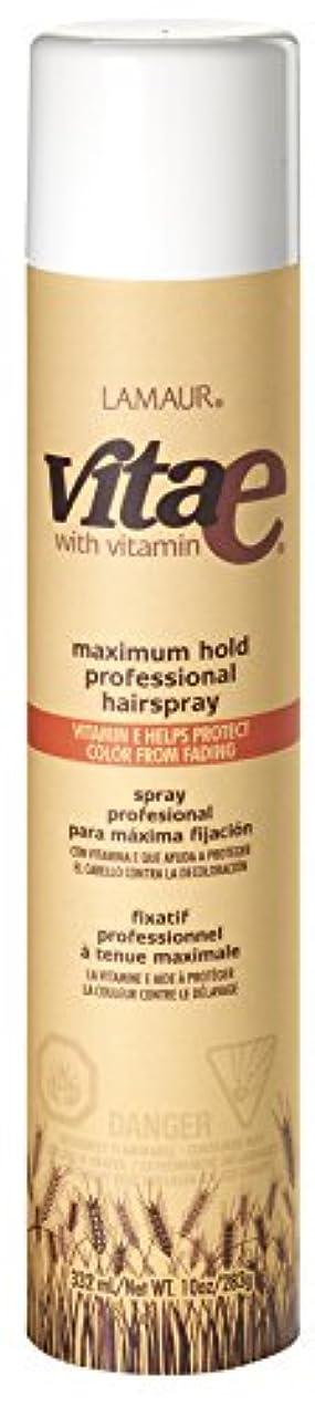 Vi-Tae® ヴィータE最大のプロのヘアスプレーホールド、55%のVOC、 10オンス