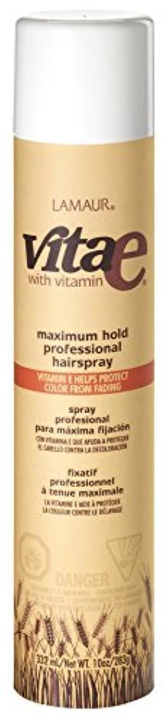 組騒々しい覗くVi-Tae® ヴィータE最大のプロのヘアスプレーホールド、55%のVOC、 10オンス