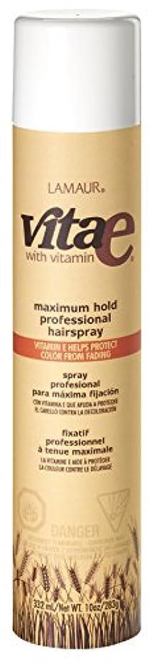 やさしく承知しました改善するVi-Tae® ヴィータE最大のプロのヘアスプレーホールド、55%のVOC、 10オンス