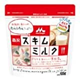 森永 スキムミルク 185g×24袋(12袋×2ケース)