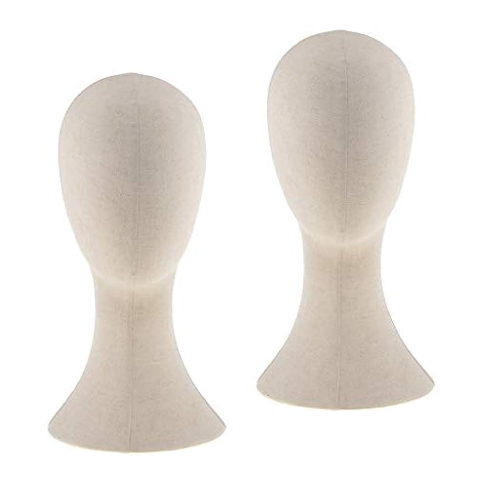 疑い定義する平和DYNWAVE マネキンヘッド ウィッグスタンド練習 頭部 女性ウィッグマネキン ディスプレイ 帽子スタンド 2個入り