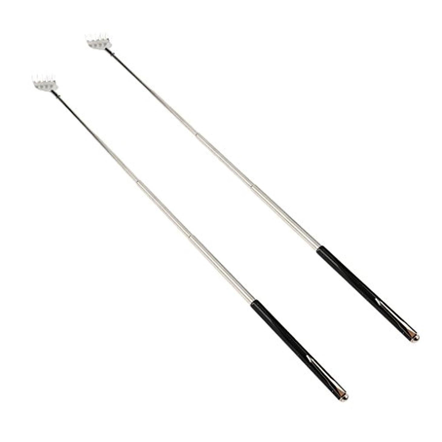 見出し会話ポンペイdailymall 2ピースバックスクラッチャー伸縮式爪拡張可能なかゆみハンドマッサージペンフック付き