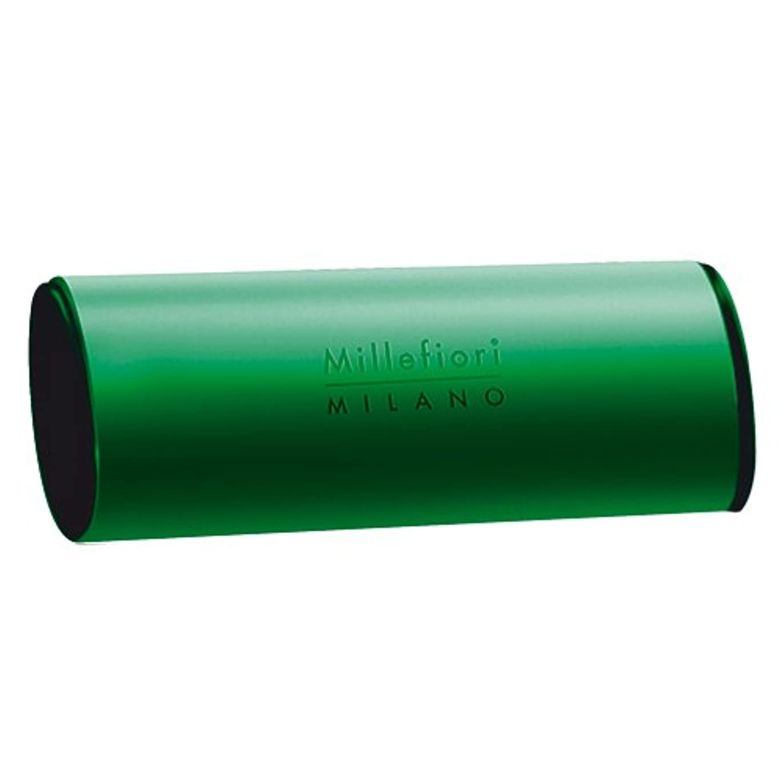 Millefiori カーエアーフレッシュナー グリーン ホワイトムスク CDIF-A-005