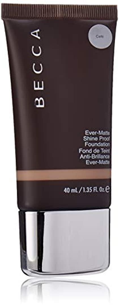 杖騒乱気がついてEver-Matte Shine Proof Foundation - Cafe