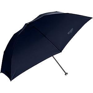 (ムーンバット) MOONBAT マッキントッシュ フィロソフィー 超軽量折りたたみ傘 バーブレラ UV加工 無地 21-431-20320-02 74-50 ネイビー 親骨の長さ 50cm