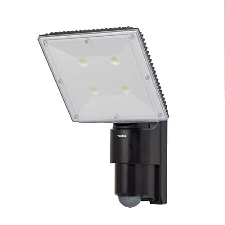 雇う服を洗う振り向くLCL-37 LED人感ライト 最大7000lmの高照度ライトを搭載したLED人感ライト! TAKEX 竹中エンジニアリング株式会社