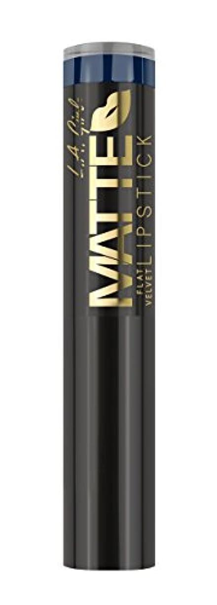 空気売上高辞書L.A. GIRL Matte Flat Velvet Lipstick Blue Valentine (並行輸入品)