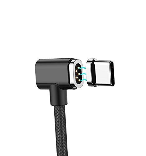 磁気吸収 USB C to USB Cケーブル USB3.1 (1.5m) Type-C 急速充電 ケーブル 4.3A給電 新しいMacBook Pro、MacBook、などに対応