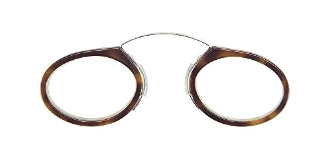 【コンパクトリーディンググラス SEEOO:シーオ +1.00~+3.00】小鼻をはさむだけのユニークなリーディンググラス(老眼鏡)