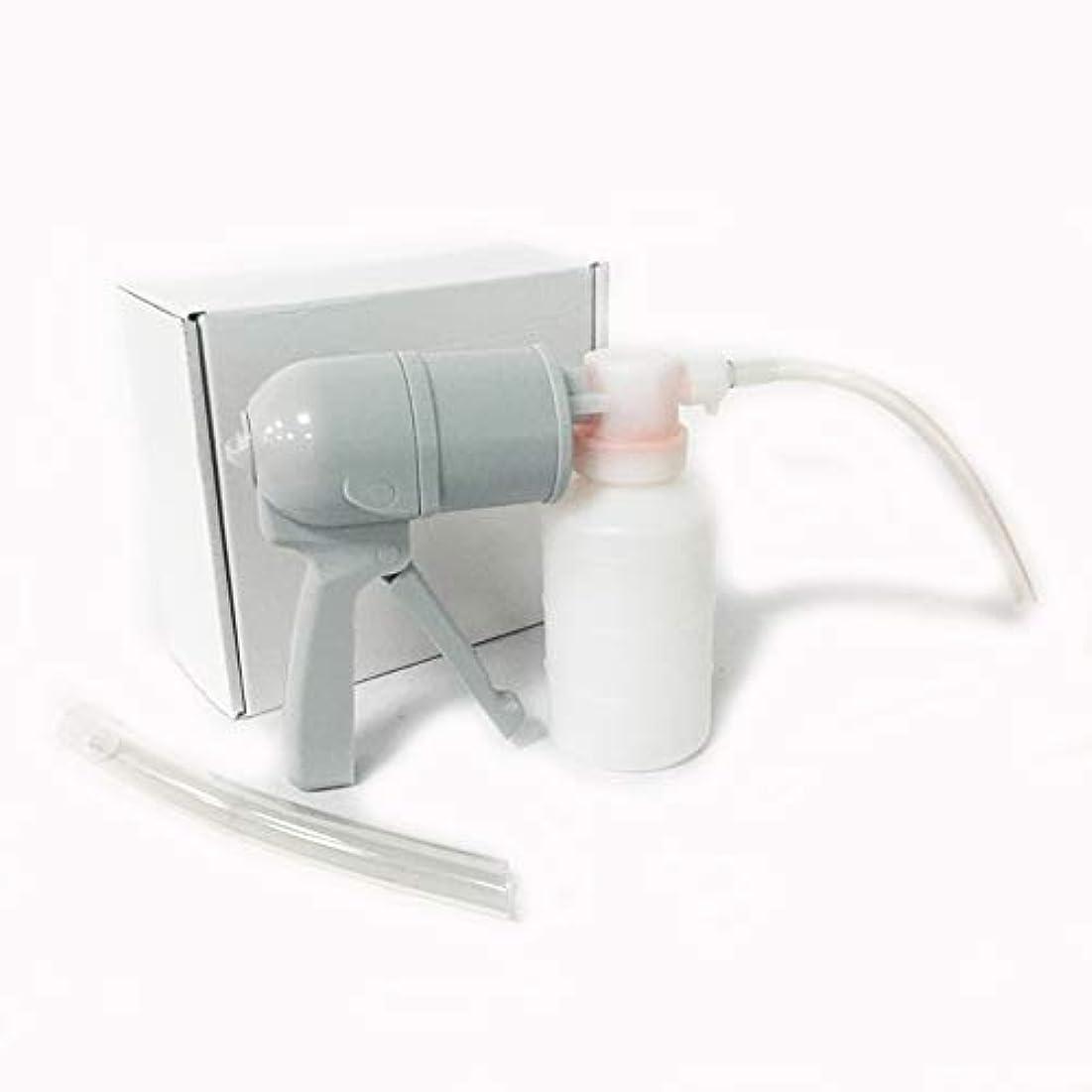 いっぱい早熟去るLekocポータブル痰吸引器 手動吸引器 膿、粘液吸引使用可能 老人用 家庭用
