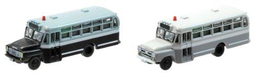 バスコレクション バスコレ2台セットC いすずBXD30警察車両