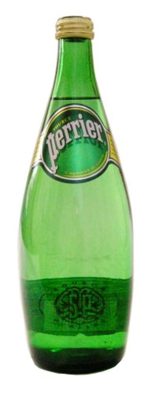 傾向死にかけている圧縮Perrier(ペリエ) プレーン 瓶 750ml×12本 [直輸入品]