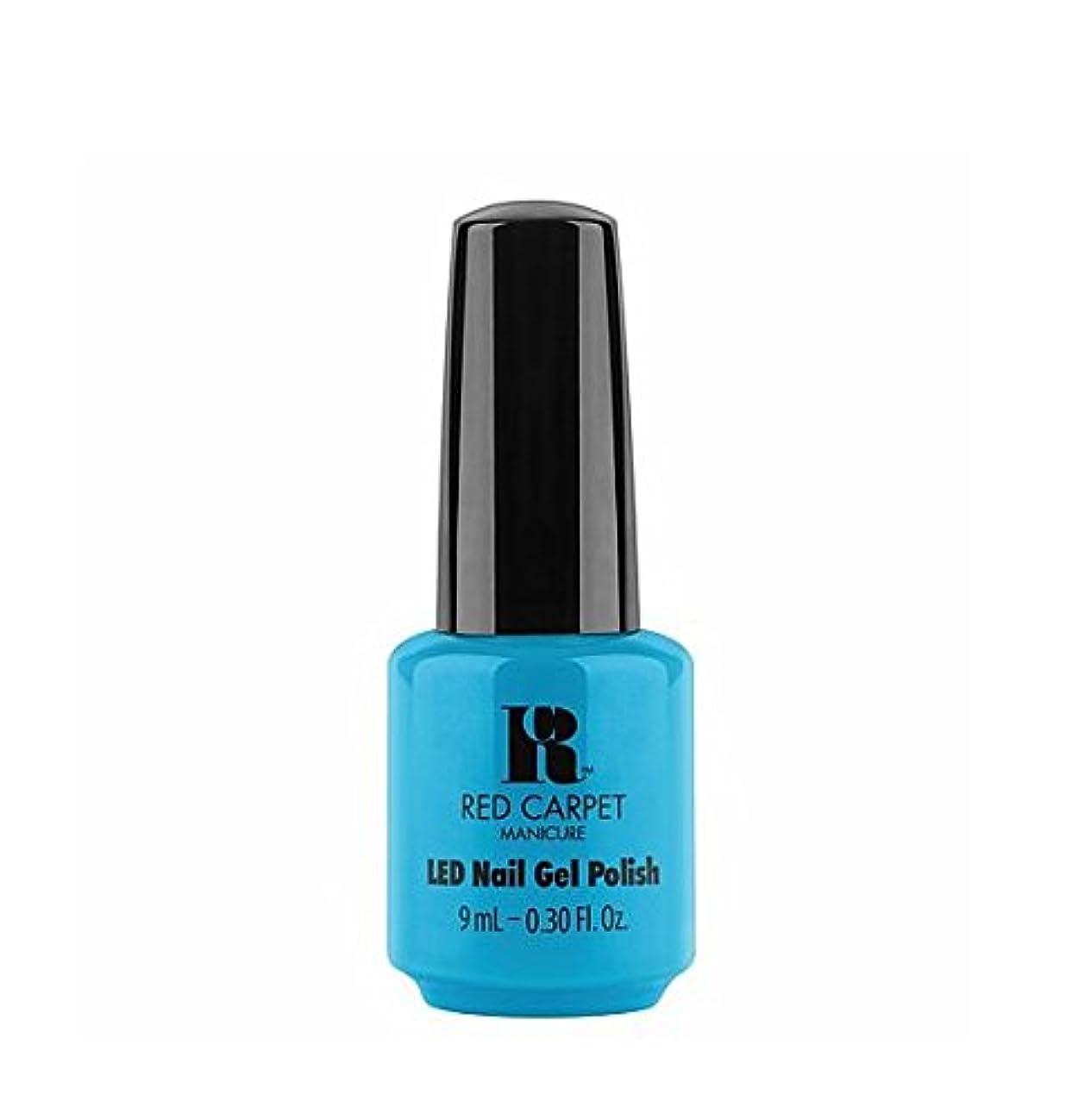 拍手受信機レガシーRed Carpet Manicure LED Gel Polish - All About Me - 9 ml / 0.30 oz
