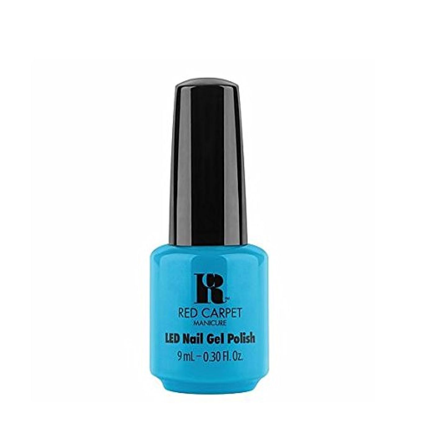 ディーラージュニア航空便Red Carpet Manicure LED Gel Polish - All About Me - 9 ml / 0.30 oz