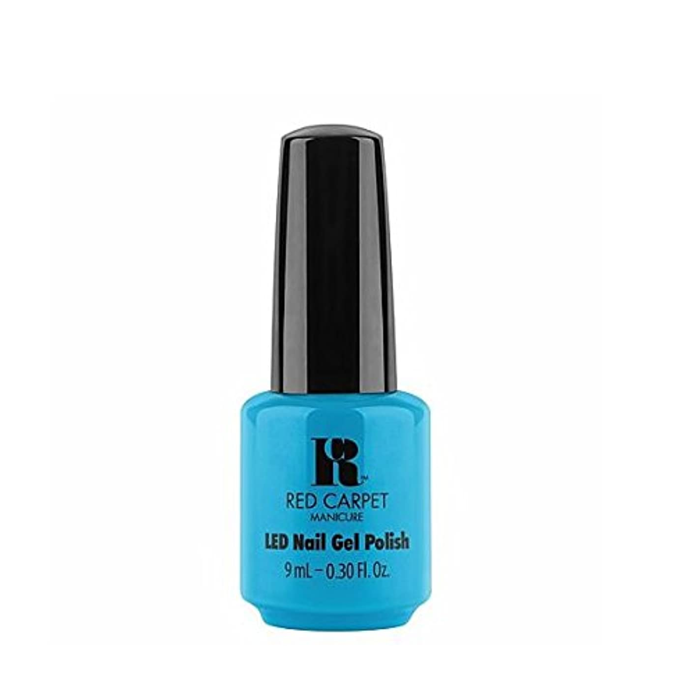 示すぬるい使役Red Carpet Manicure LED Gel Polish - All About Me - 9 ml / 0.30 oz